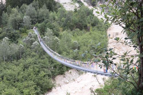 Bhutanbrücke und Illgraben
